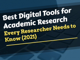 digital tools for academic research