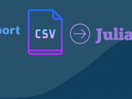 Import and Use CSV file into Julia