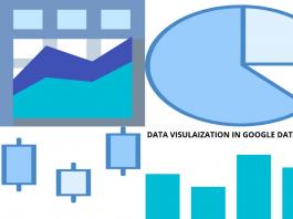 Data visualizationin google data studio