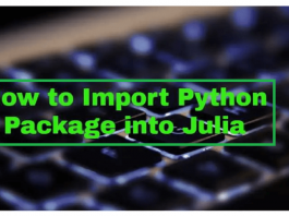 How to Import Python into Julia