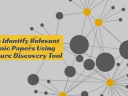 How to Identify Relevant Academic Papers Using Literature Discovery Tool