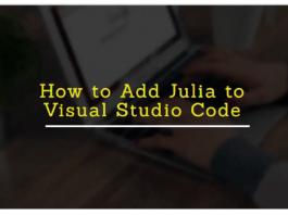 Integrate Julia to Vs Code in Microsft