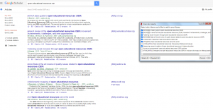 Zotero extension with google Scholar