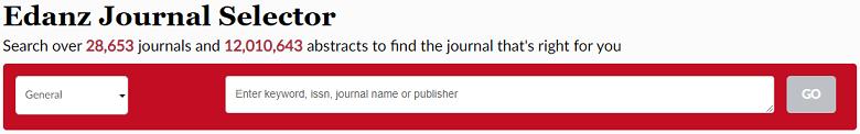 Edanz Journal Selector for selecting best journal
